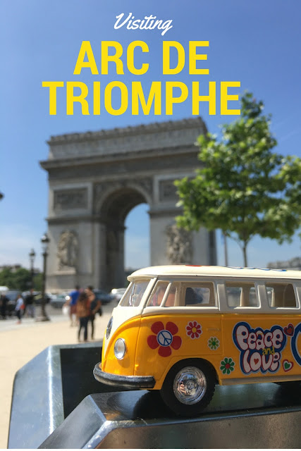 Visiting the Arc de Triomphe