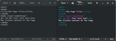 الفرق بين النص العادى plain text والنص ذو التظليل البرمجى html syntax highlighter