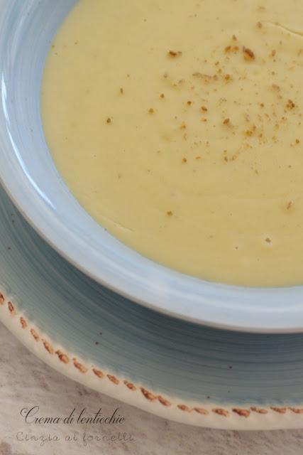 crema lenticchie ricetta bimby