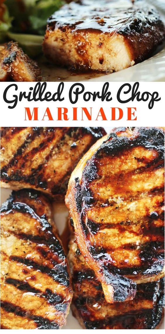 Easy Grilled Pork Chop Marinade