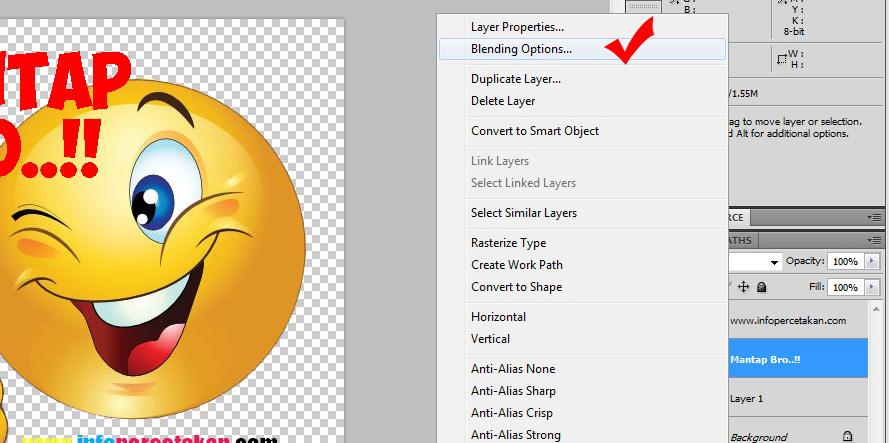 www.InfoPercetakan.com: Cara Mudah Membuat Sticker