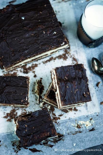 ciasto, czekolada, mleczna kanapka, deser, herbatniki, bernika, kulinarny pamietnik