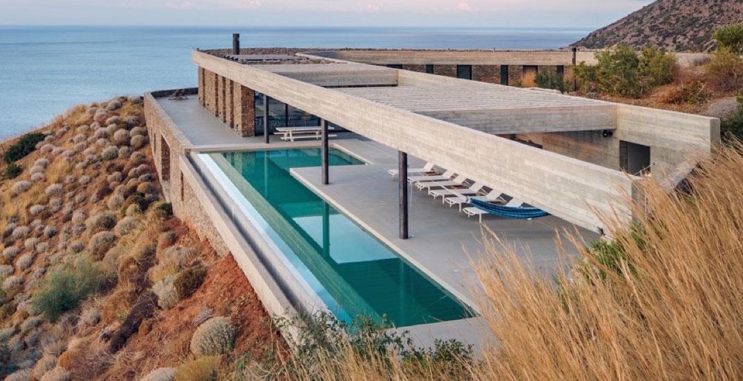 Una villa sulle colline di Creta