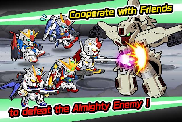 Line Gundam Wars Screenshot 05