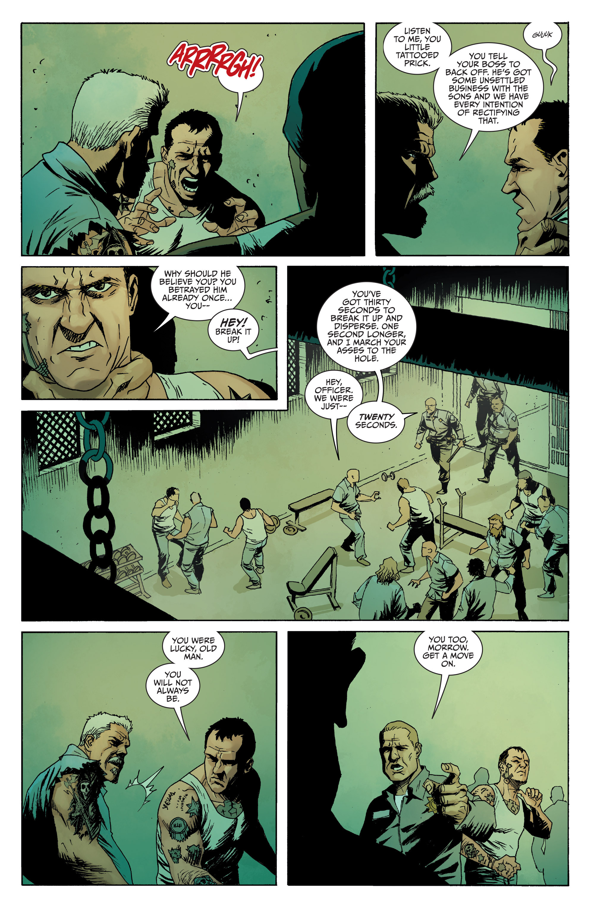 Read online Sons of Anarchy comic -  Issue #8 - 11