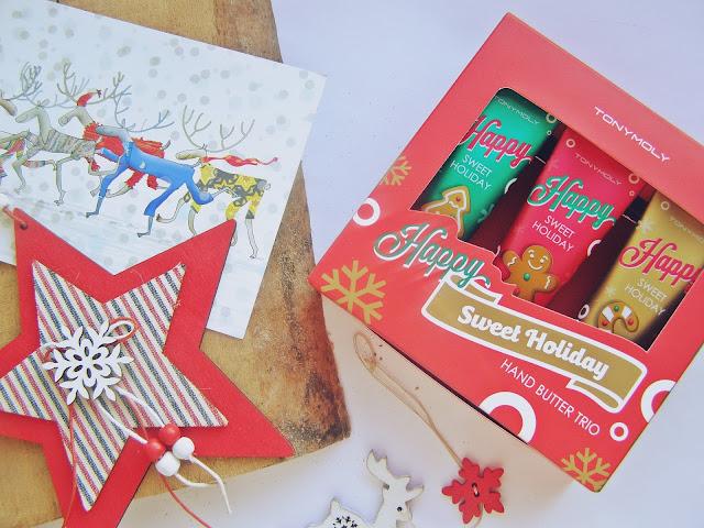 Tony Moly Happy Sweet Holiday Hand Butter Trio