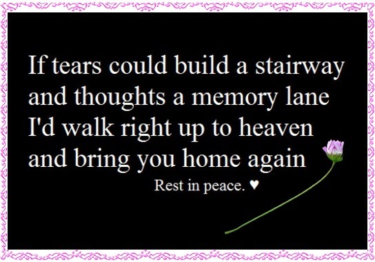 Death, Grief, Rest In Peace Quotes