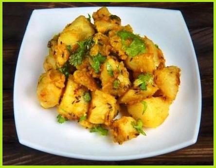Jeera Aloo Recipe in Hindi For Upvas