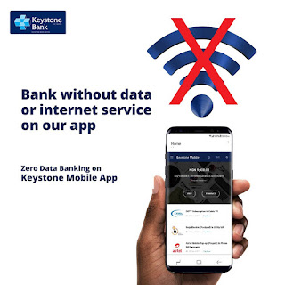 Bank Without Data On Keystone Mobile App 1