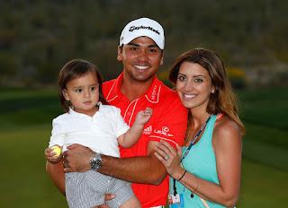 Jason, his wife Ellie and their son Dash