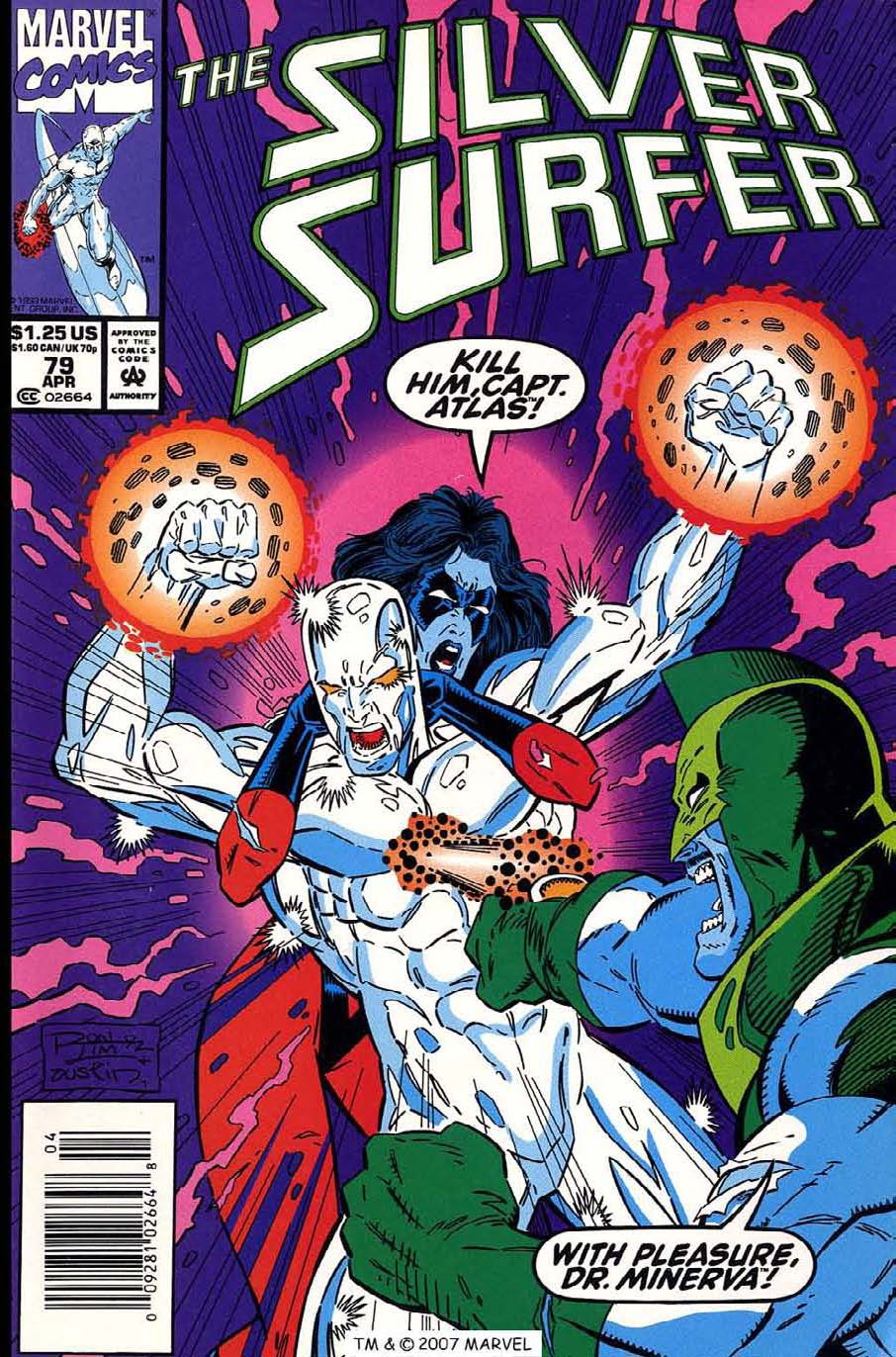 Read online Silver Surfer (1987) comic -  Issue #79 - 1