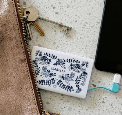 Floral Design Power Bank