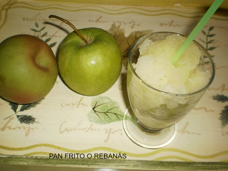 Pan frito o reban s sorbete de manzana verde - Sorbete de manzana verde ...
