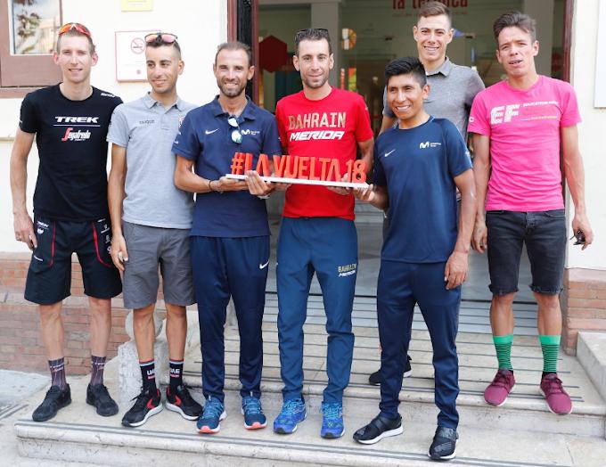 Las estrellas de la Vuelta a España 2018