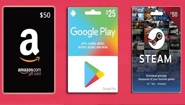 إليك أفضل 4 طرق فعالة للحصول على بطاقات جوجل بلاي وأمازون مجانا وبسهولة