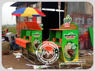 produksi gerobak motor gado gado