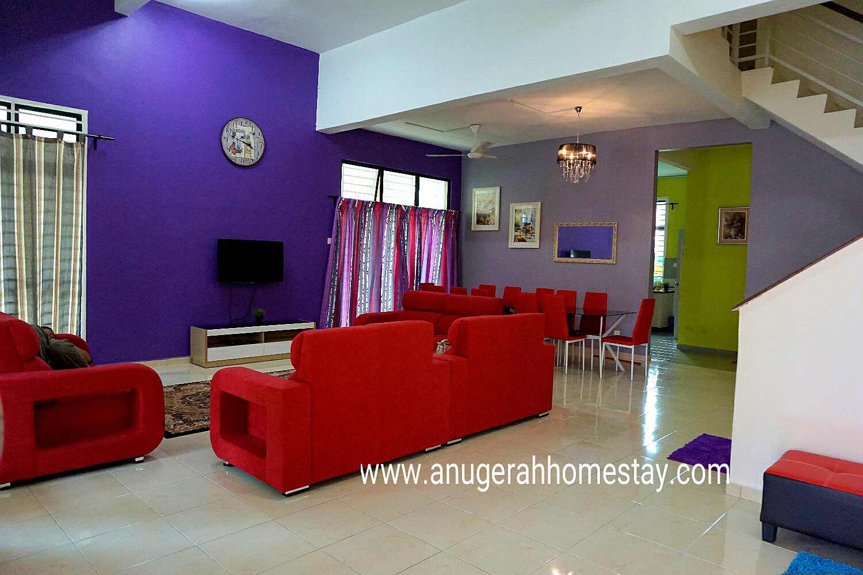 Homestay Melaka Villa 5 Bilik With Swimming Pool Private