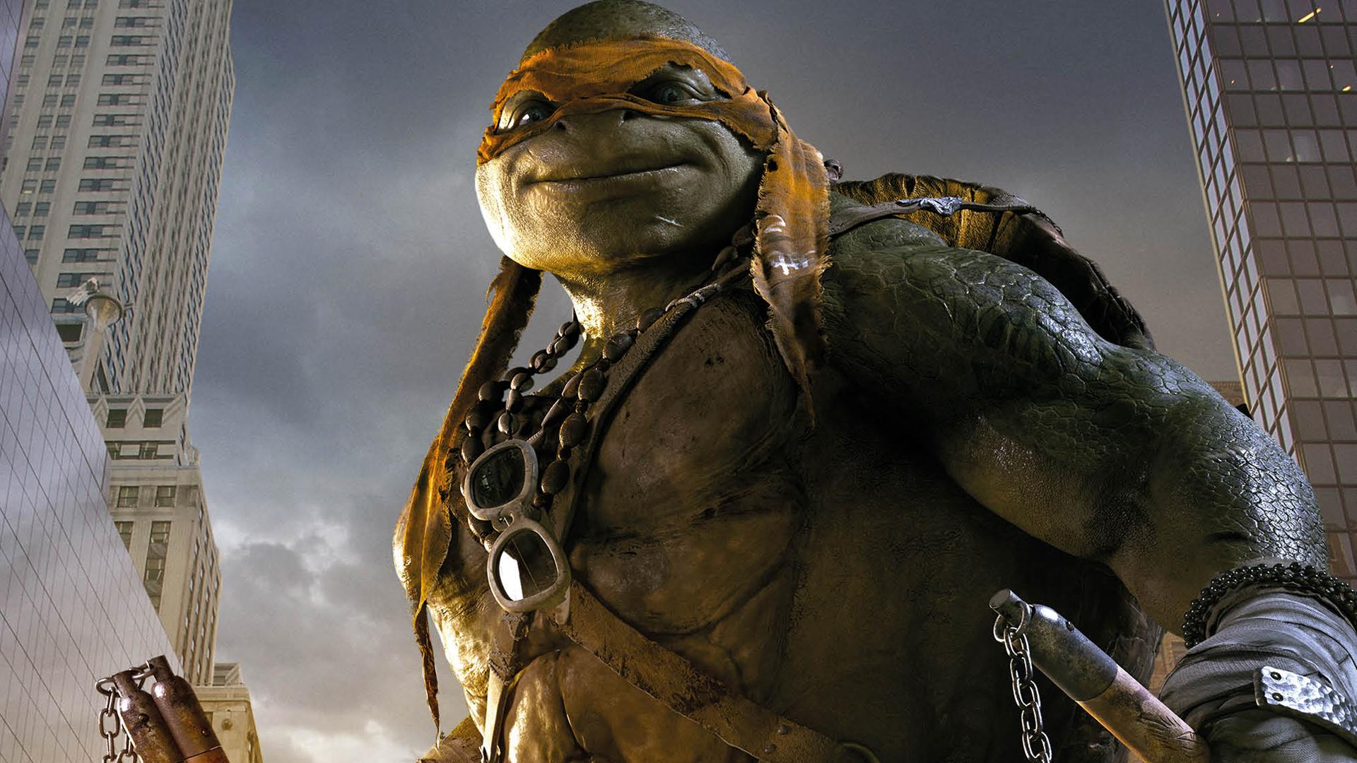 Michelangelo TMNT 2014 Wallpaper HD