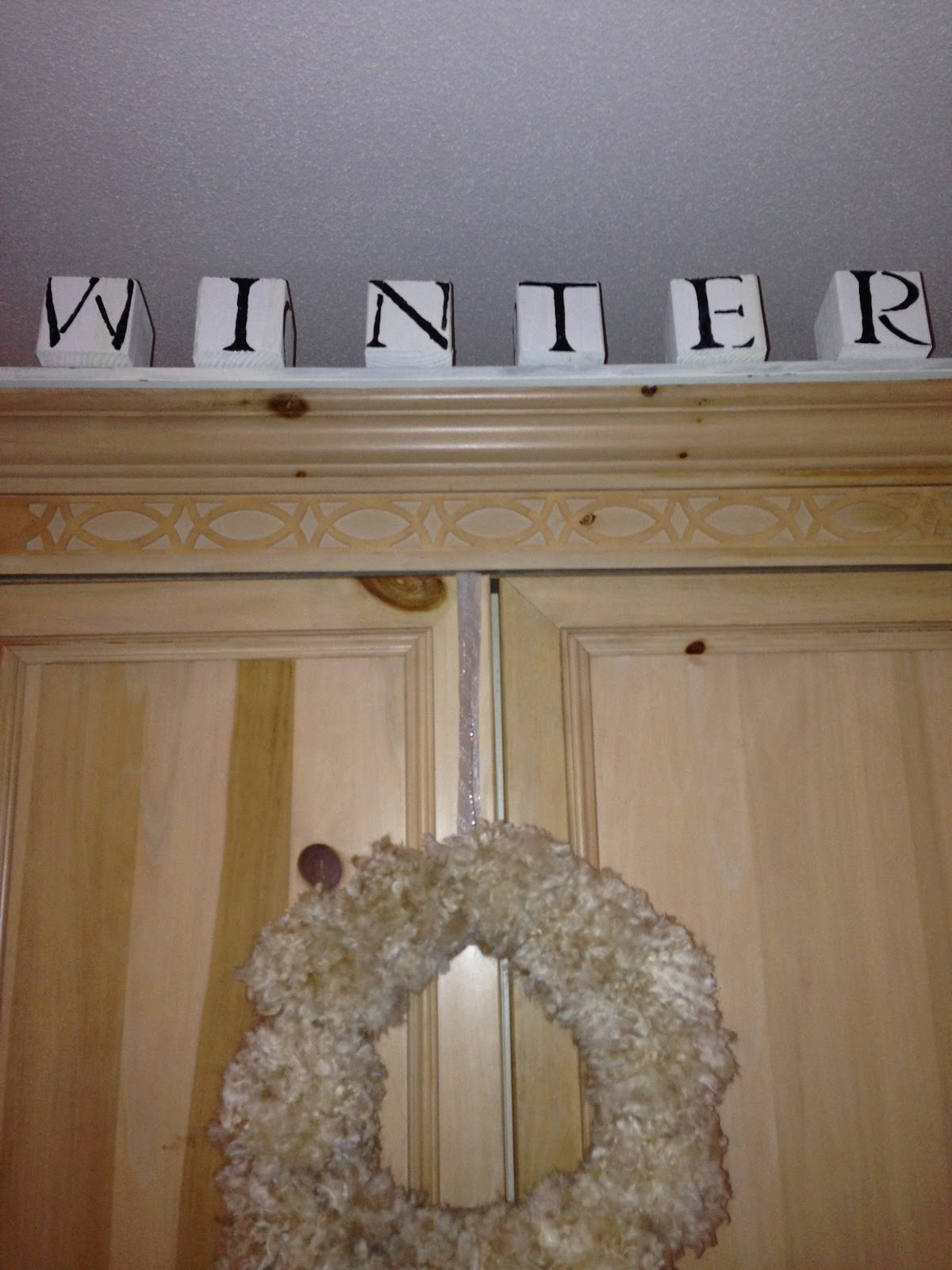 WINTER DECORATING