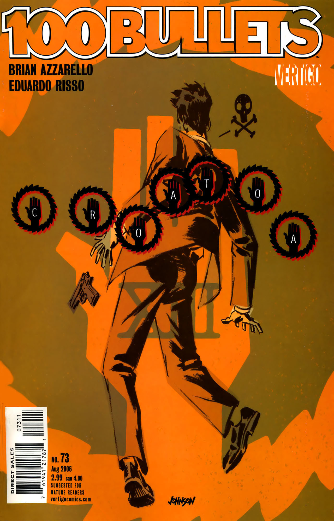 Read online 100 Bullets comic -  Issue #73 - 1