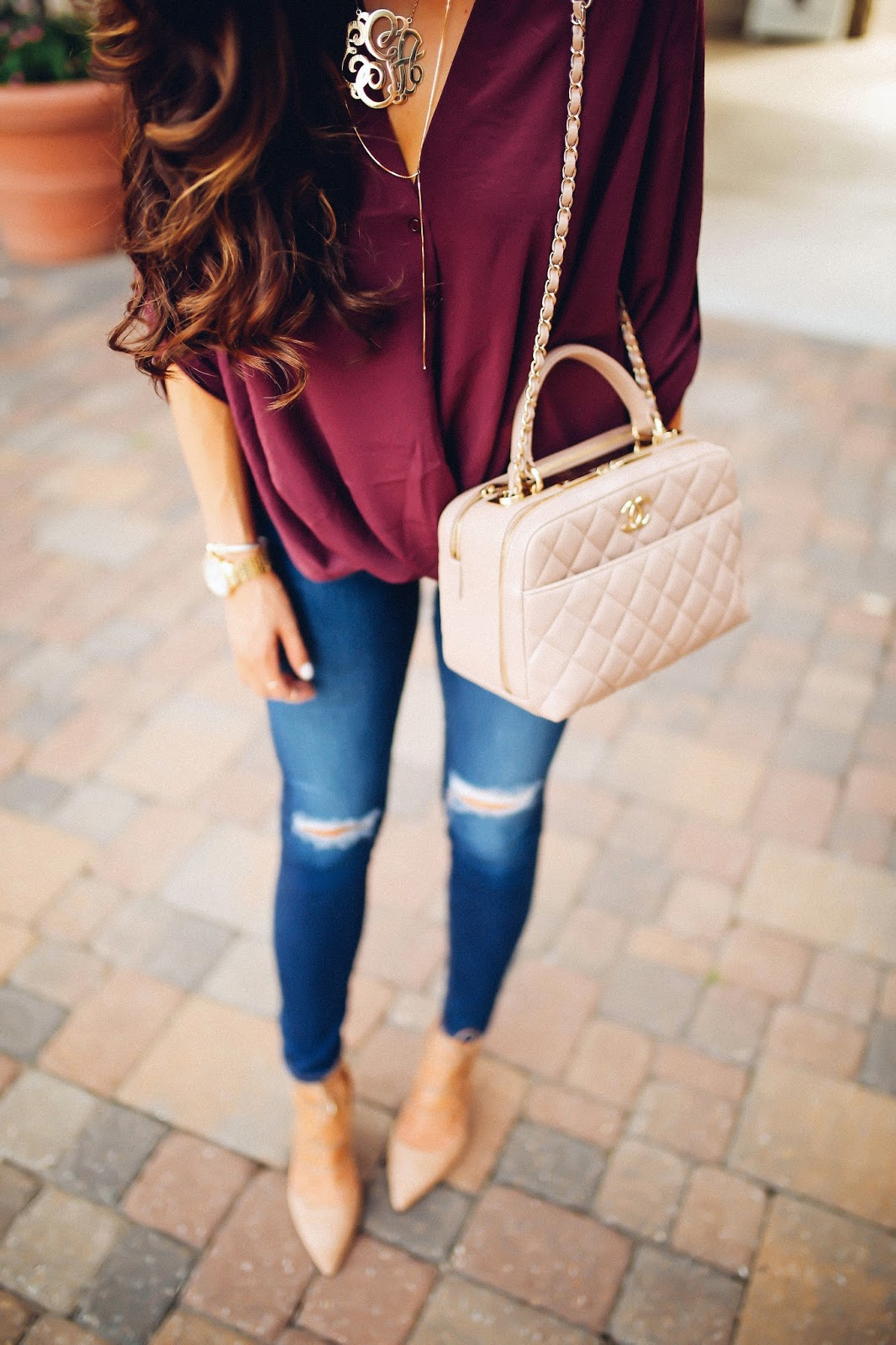 Southern Curls & Pearls: The Perfect Date Night Outfit