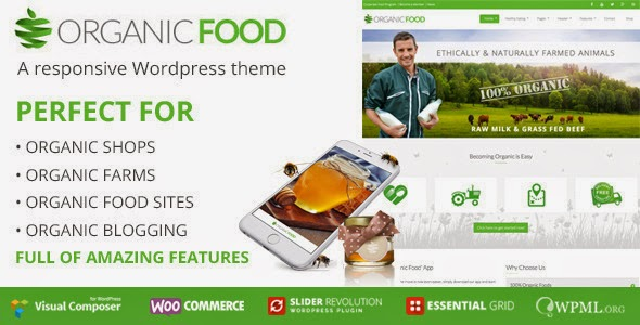 Agriculture Responsive WordPress Theme