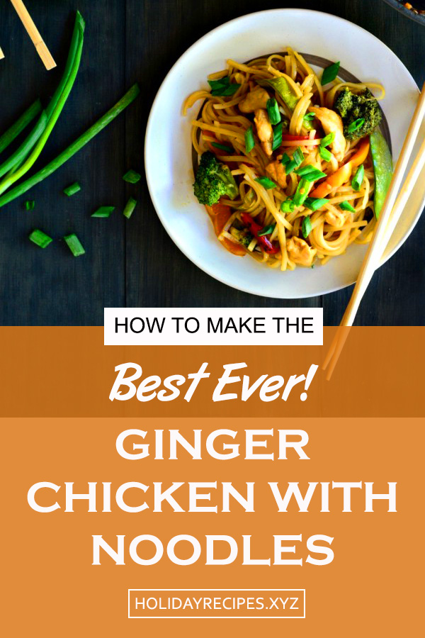 Ginger Chicken With Noodles Recipe | ramen noodle recipes | ramen noodle recipes healthy | weight watchers dinner recipe | easy chicken and broccoli stir fry | honey garlic chicken | chicken stir fry with vegetables #gingerchickenrecipe #gingerchicken #chickennoodles #dinner #chickenstirfry #easychickenrecipe