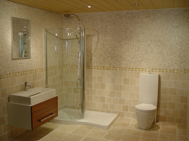 Bathrooms With Tile Walls - Home Design Ideas