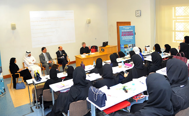 Image Attribute: Qatar Student Awards Seminar at Qatar University