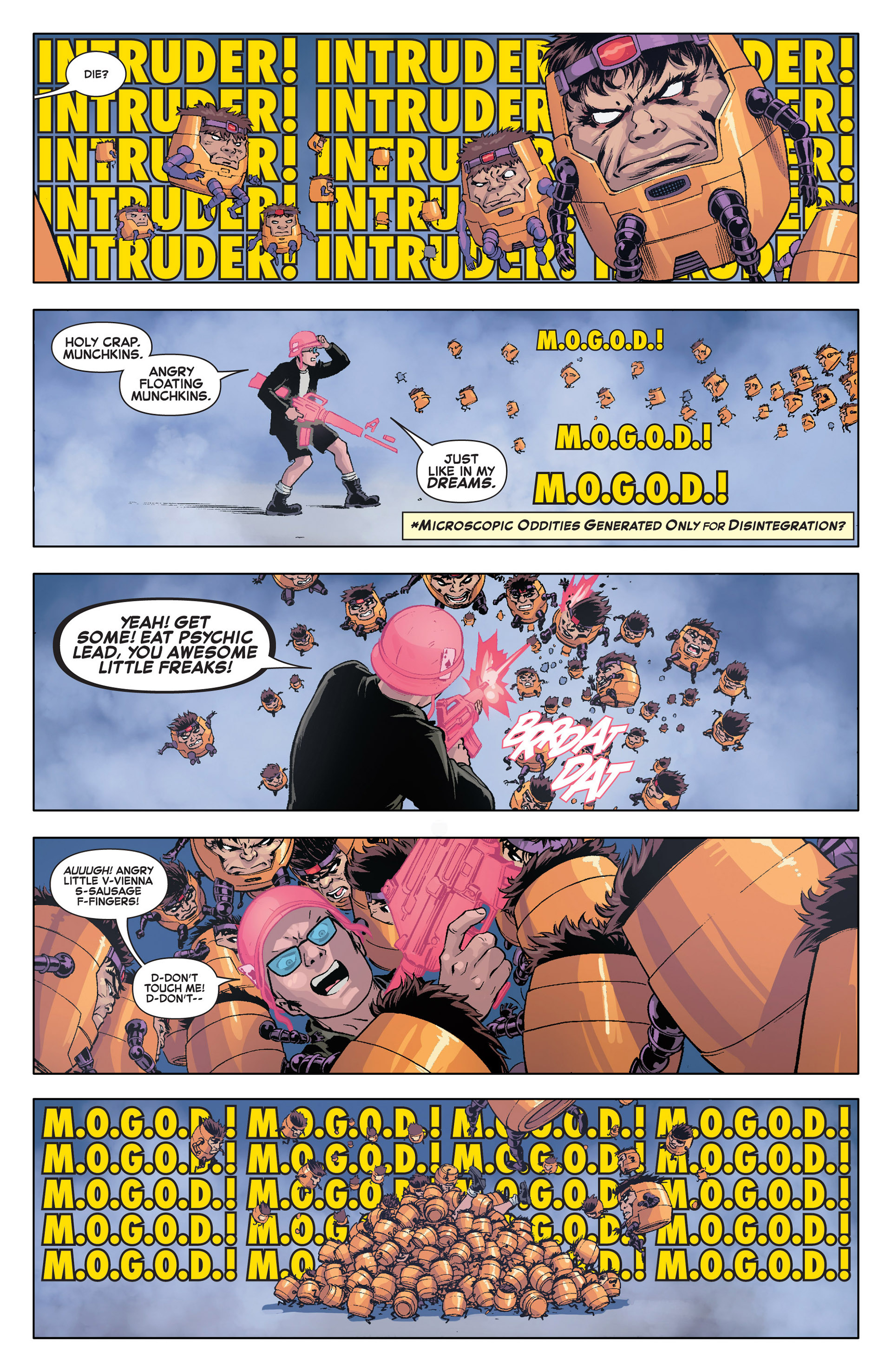 Read online A X comic -  Issue #4 - 18