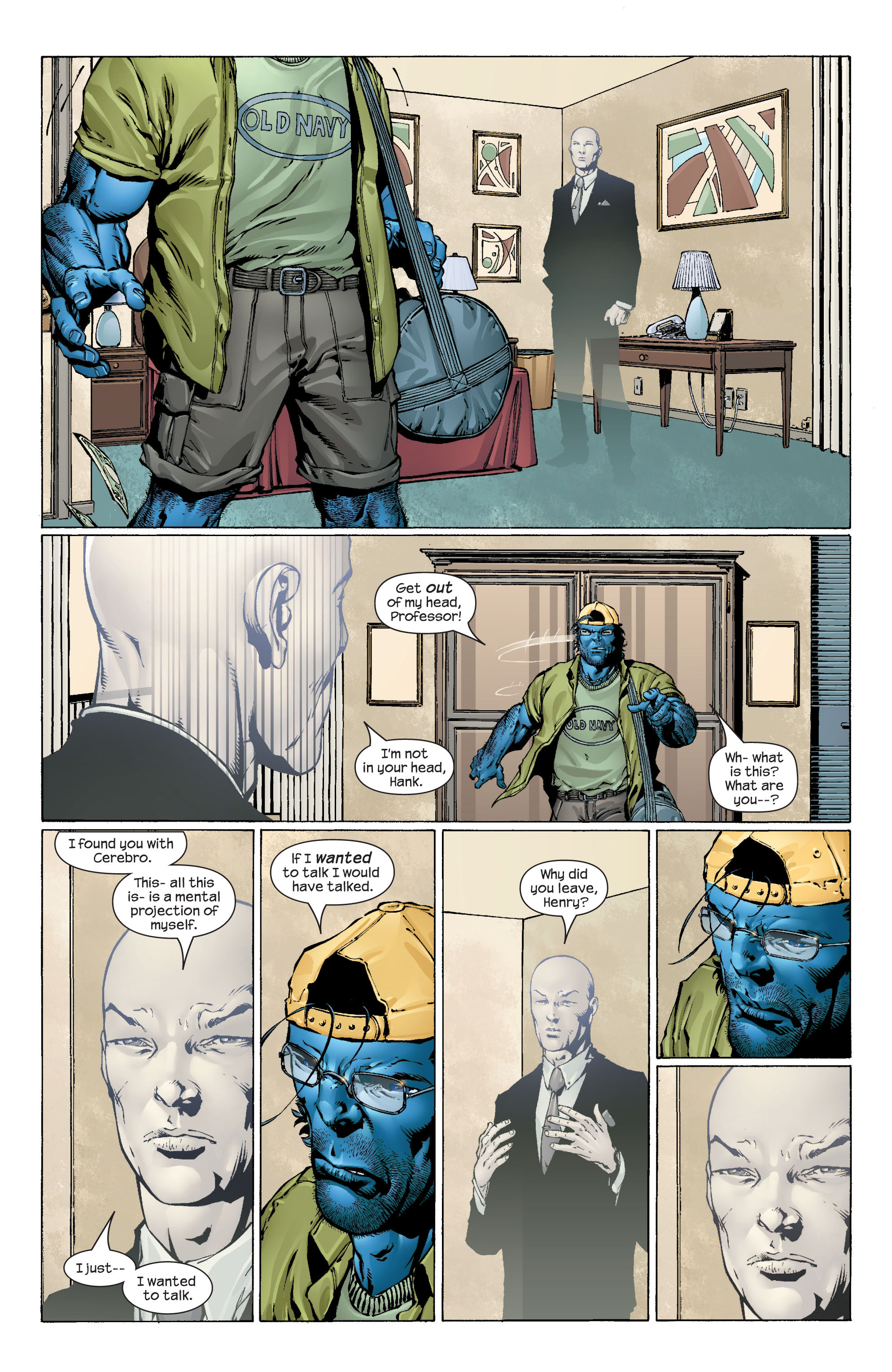 Read online Ultimate X-Men comic -  Issue #43 - 10