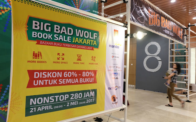 Jam buka Big Bad Wolf 2017