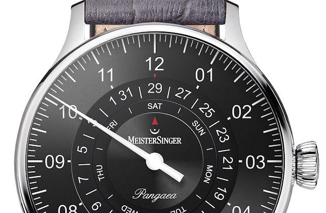 MeisterSinger PDD907 dial