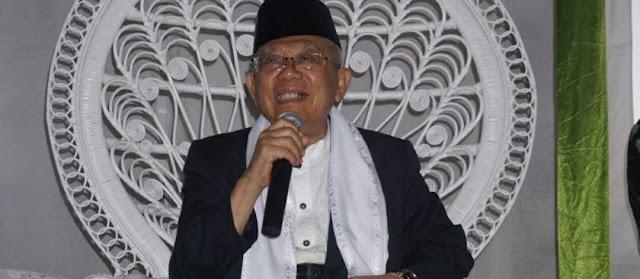 Kiai Ma'ruf Amin: Tak Ada Larangan Umat Islam Ucapkan Selamat Natal