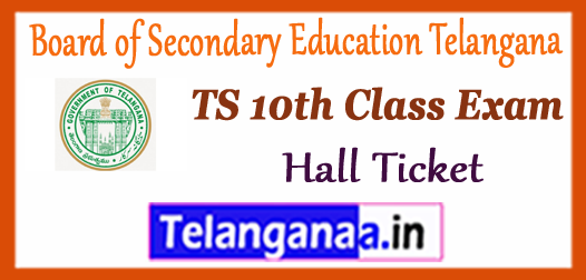 Board of Secondary Education Telangana 10th SSC Admit Card Hall Ticket 2018