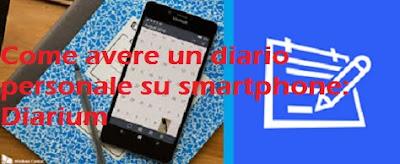 Come avere un diario personale su smartphone: Diarium app