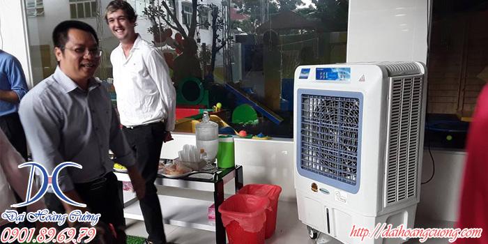 máy làm mát thích hợp để tiếp khách và nó là thứ khó có thể thiếu trong những cuộc vui ngày hè