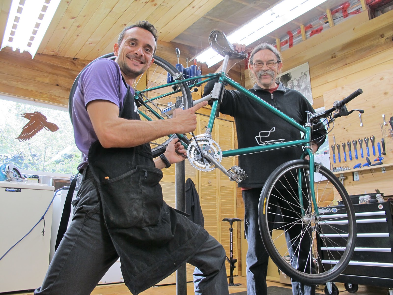 Image result for Bicycle mechanics