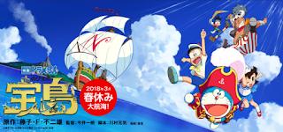 Download Doraemon Movie 38 : Nobita's Treasure Island (2018) Subtitle Indonesia