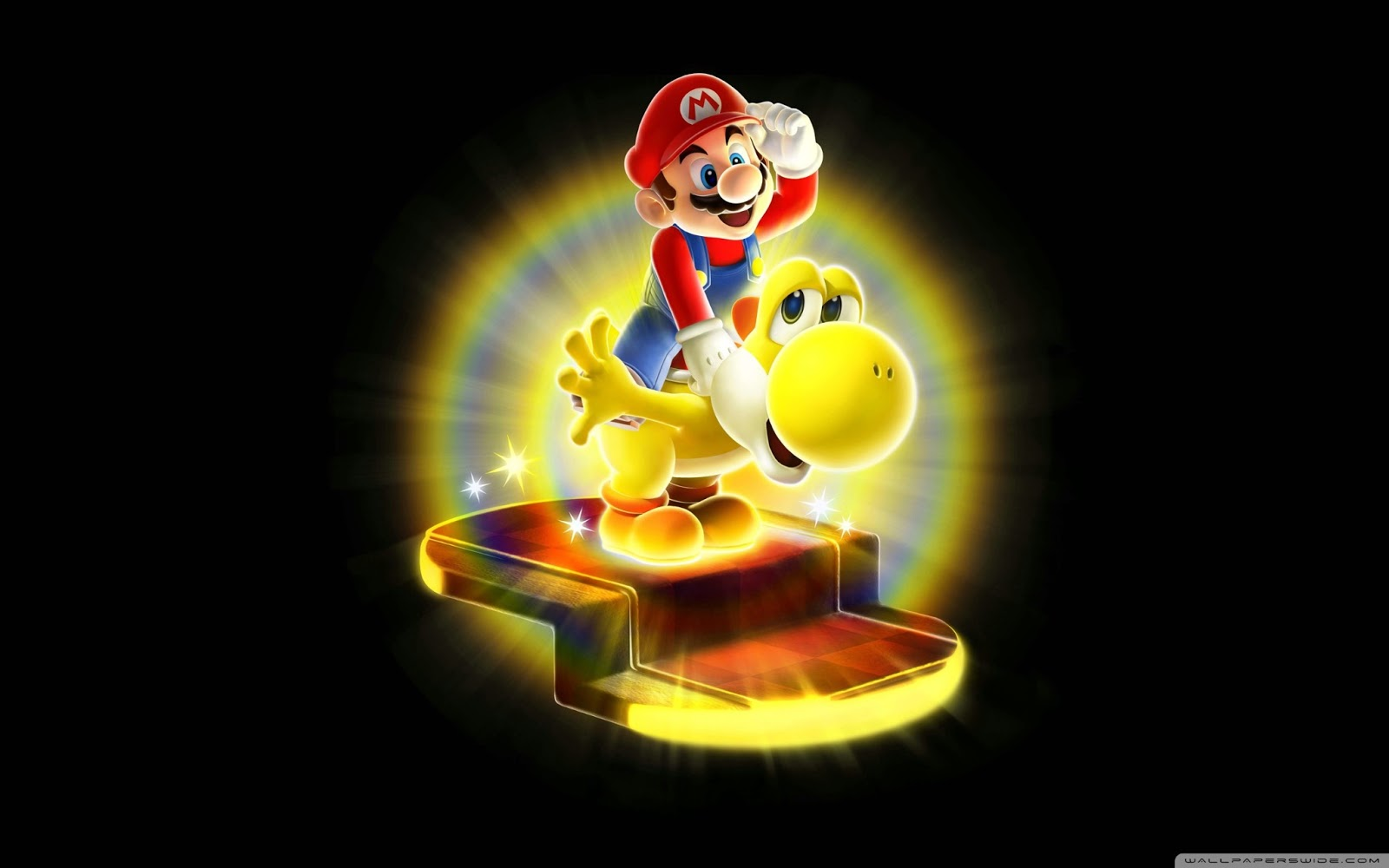 Super Mario Galaxy Wallpaper: Super Mario HD Desktop Wallpapers