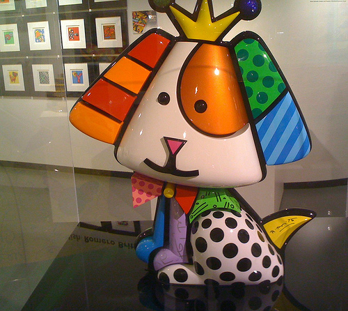 Galeria de arte do Romero Britto em Miami