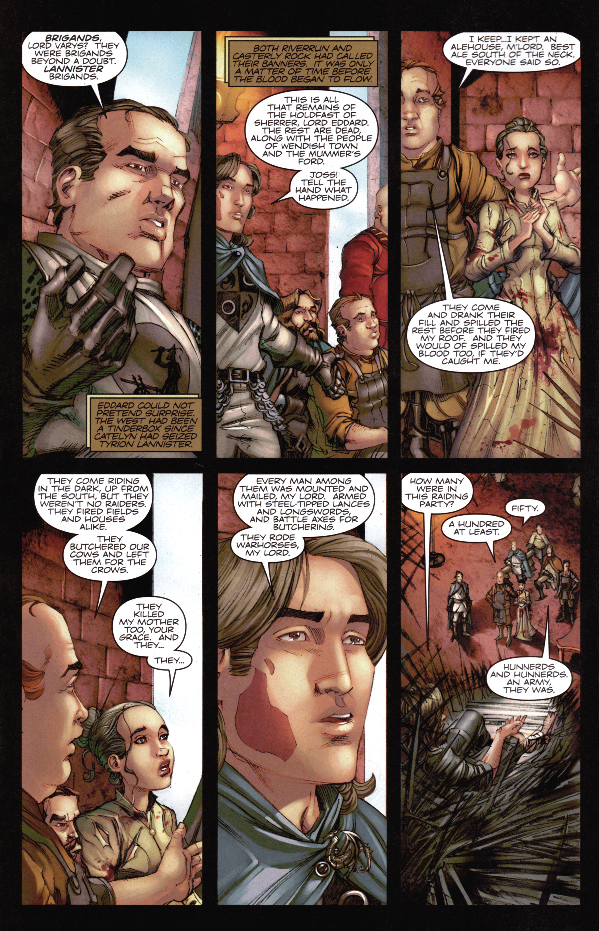 Read online A Game Of Thrones comic -  Issue #14 - 4