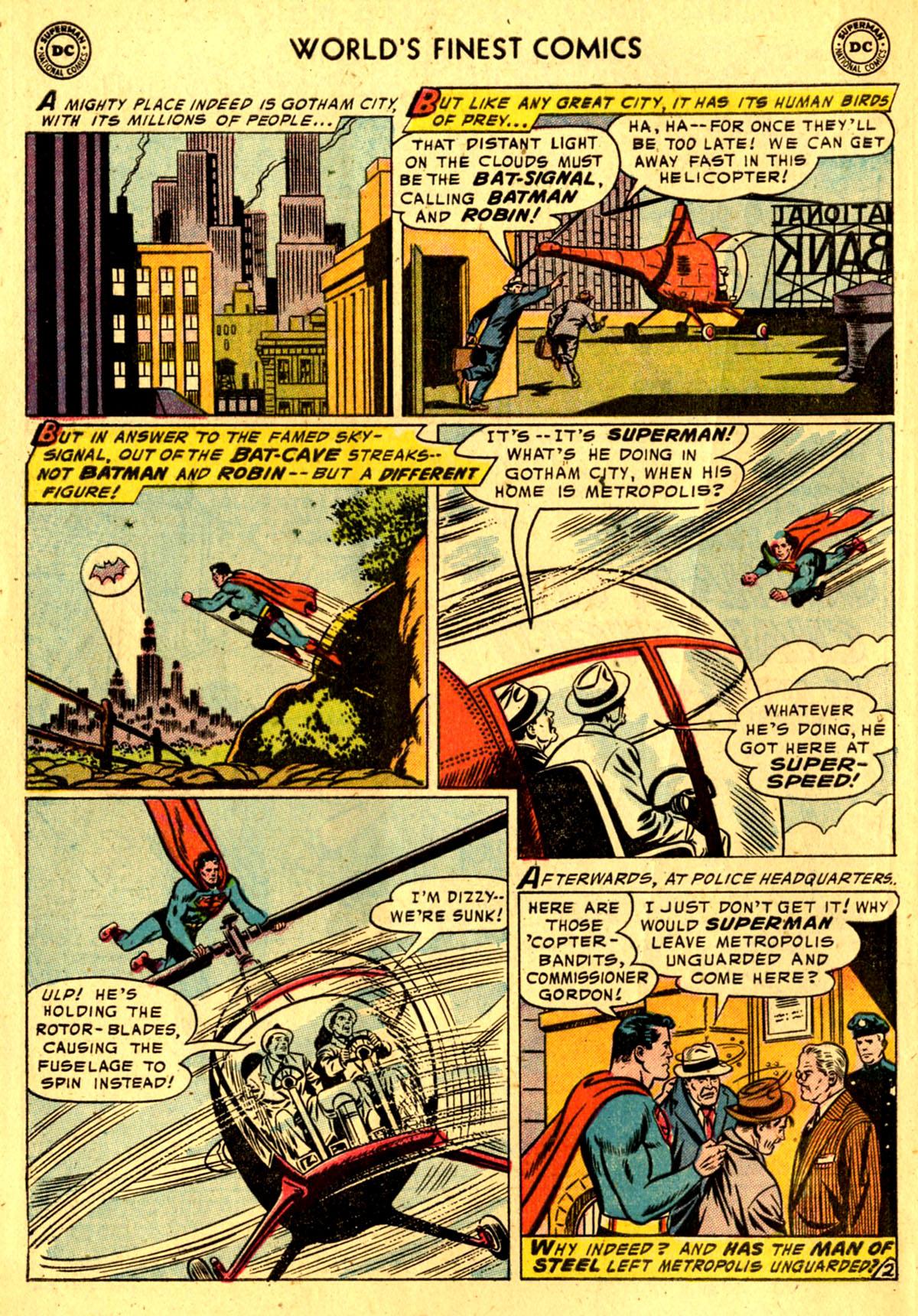 Read online World's Finest Comics comic -  Issue #76 - 4