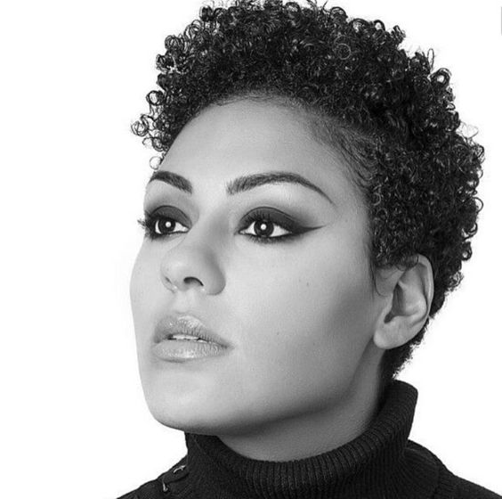 photos of short haircuts for black women la moda en tu cabello femeninos cortes de pelo corto 3532 | pelo corto crespo mujeres 8