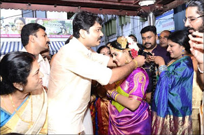 Actress Menaka  First Daughter Revathi Weds Nitin Mohan