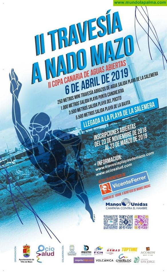 Más de un centenar de participantes competirán en la II Travesía a Nado Playas de Mazo