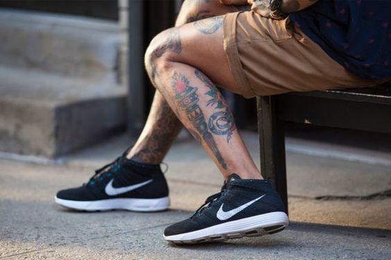 Tatuagem Masculina Pernas