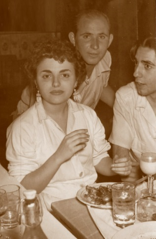 Los ajedrecistas Maria Lluïsa Puget y Eduardo Pérez