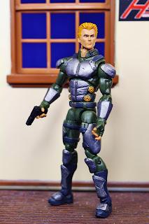 JLA style Steve Trevor custom figure by HKC