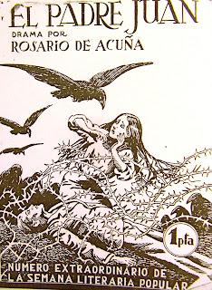 Imagen de la portada de la edición de El padre Juan de 1938